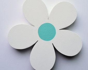 Wooden Flower - Flower Cut Out - Flower Decoration