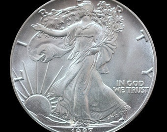 1987 Uncirculated American Silver Eagle