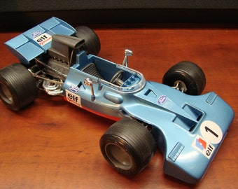 Vintage Schuco Tyrrell Ford Formula 1 Key Wind 1/16th Scale Model Race Car