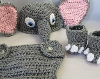 Newborn Elephant Photo Prop/Costume
