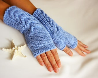 SALE  Fingerless Gloves, Arm Warmers, for Women, Hand Knitted