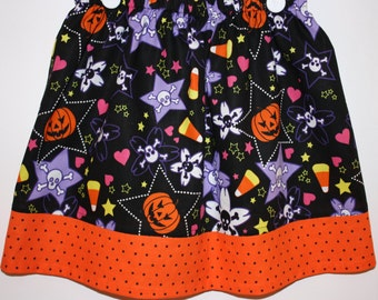Halloween Skirt  Size 2 to 8