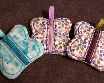 Butterfly Inspired Coin Purse  *Free Shipping*