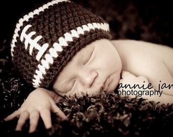 Baby Boy Football Hat , Newborn Football Hats , Baby Boy Hats , Infant Hats Newborn Hats Photography Prop Hats