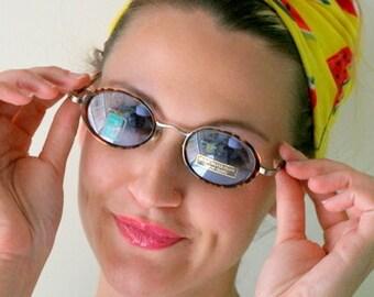 Vintage LENNON EYEWEAR.NOS. librarian. round lens. groovy. twiggy. mod. retro glasses. claasic. prep. secretary. urban. hipster. john lennon