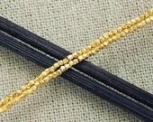 "170 of Karen hill tribe 24k Gold  Vermeil Style Faceted Beads 1.3 mm. 8.5 "" :vm0352"