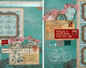 Premade Scrapbook 2-Page 12 x 12 Layout
