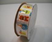 Birthday Monsters Berwick Ribbon 3 Yards New On The Spool