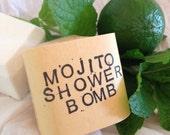 Mojito Shower Bomb – Revitalizing Spa Treatment – Aromatherapy – Steam Therapy