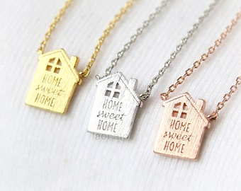 Sweet Home Necklace / Maison Necklace, home sweet home