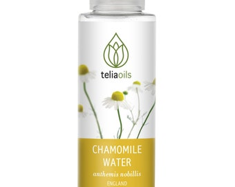 Chamomile Organic Floral Water, 100% Natural Hydrolate