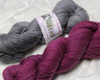 Merino Cashmere 4 ply knitting yarn