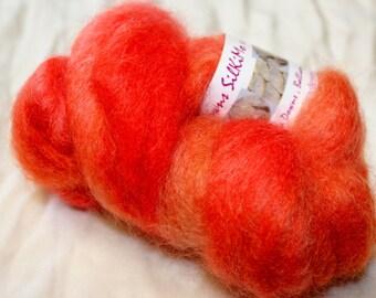 SilKiMo kid mohair and silk brushed yarn