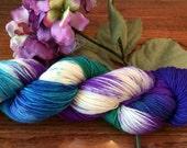 Speckled Yarn, Merino, Cashmere,Hand Dyed Sock Yarn, Hand Dyed, Merino, Knit,