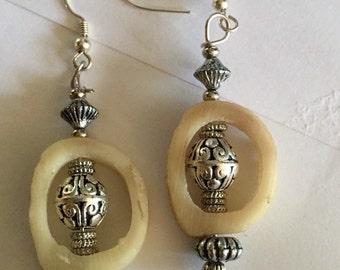 Deer Bone Earrings