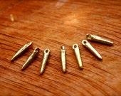 brass beads,  brass spike beads, stick beads, metal beads, brass findings, macrame, makrame, brass india, macrame supplies, diy boho, spiky