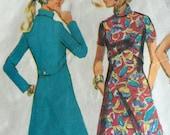 Vintage Pattern Sewing RETRO Dress McCalls 1969 No. 2206 Size 12 Bust 34 DRESS Vintage 60s Dress Pattern Sewing Pattern 60s Retro MOD Look