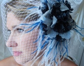 Reserved for Ana - Brides Fascinator - Bridal Headpiece - Fascinator with Veil