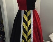 Queen Of Hearts Inspired Dapper Day Dress