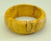 Exotic Wood Bangle Bracelets Size 8.5