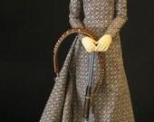 SD13/60cm printed Steampunk/Victorian Dollfie BJD dress