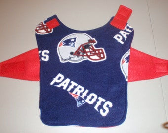 New England Patriots Fleece Dog Coat