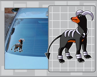 HOUNDOOM vinyl decal from Pokemon Sticker for Just about Anything!