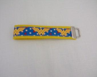 Wonder Woman Key Fob/Wristlet