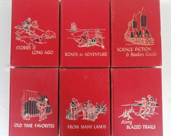 6 Volumes Of THE CHILDREN'S HOUR 1966 #'s 3 9 11 12 13 16 Hardbound Very Nice Condition