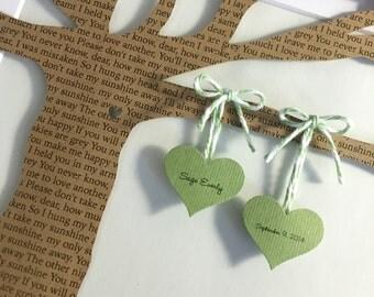 Baby Shower gift - Framed 3D Paper Tree Baby Nursery Art - 8x10