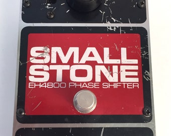 Vintage Electro Harmonix Small Stone Phasor Pedal Guitar Effect early 80s phaser