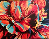 """Colorful Flower Painying - """"Big Beauty"""""""