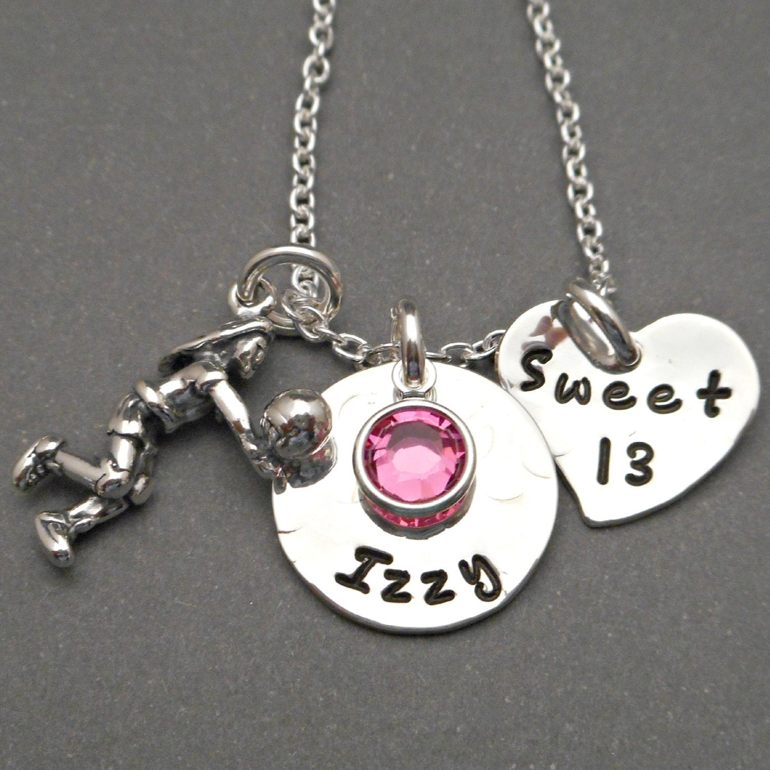 Sweet 13 Necklace Sweet 13 Jewelry 13th Birthday Girl