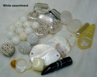 Destash!!! 5 sets of black and white beads - Select yours!