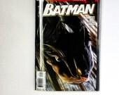 DC Comic Autograph Book / Art Journal - Handmade - Upcycled - One of a Kind - Batman R.I.P. #679