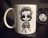 Nurse Mug by Lupe Flores