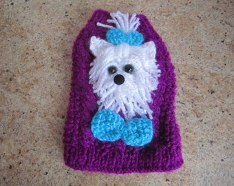 Dog Sweater Yorkie or Maltese By Nina's Couture Closet