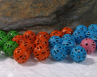 120 Filigree Beads