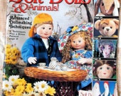 Soft Dolls & Animals, Summer 1997, Advanced Dollmaking Techniques, 34 Things to Make, Full- Size  Patterns, Sewing