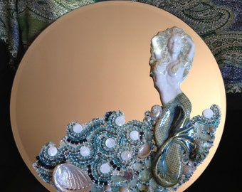 Mosaic Mermaid Mirror