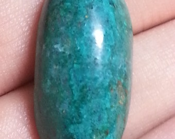 Chrysocolla 31 by 15mm # 1019