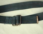 S A L E Soft Belt  - Vintage Belt Mens Belt ... a Fashionista Statement Piece can fit for Size S and M and L