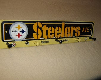"Pittsburg Steelers coat rack "" hangup """