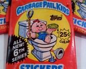 Garbage Pail Kids Sticker Cards Series 6
