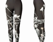 Gray Ghosts Leggings - Yoga Workout Wear