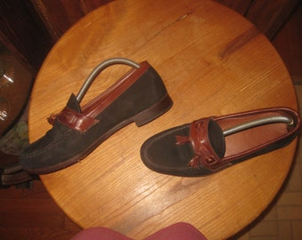 Allen Edmonds   Chatham  Two Tone Leather Loafers   Made In USA     Mens  11  D