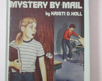 Vintage Childrens Books Mystery By Mail Hardcover Mysteries Kristi D Holl Tween's Books YourFineHouse SHIPSWORLDWIDE