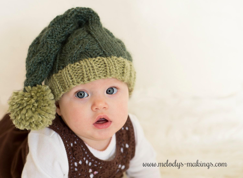 Stocking cap knitting pattern stocking hat pattern baby this is a digital file bankloansurffo Choice Image