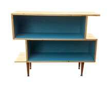 Mid Century Inspired Bookshelf / Entertainment Unit