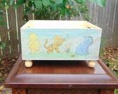 Winnie The Pooh Tigger Piglet Eeyore Classic Pooh Diaper Caddy Nursery Decor Baby Decor Winnie The Pooh Nursery Diaper Bag Baby Shower Gifts